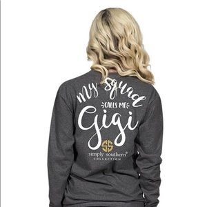 "Simply Southern ""Gigi"" long sleeve"